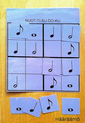 Hääräämö: Sudoku & palapelejä esi- ja alkuopetukseen