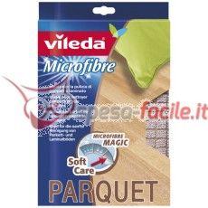 VILEDA PANNO MICROFIBIBRA PARQUET 40X50 Panno Pavimenti Microfibra Parquet Panno Pavimenti In Microfibra specifico per Parquet e Legno , soffice ed assorbente, utilizzabile anche da asciutto per spolverare, formato 50x40 cm http://www.spesa-facile.it/prodotti/vileda