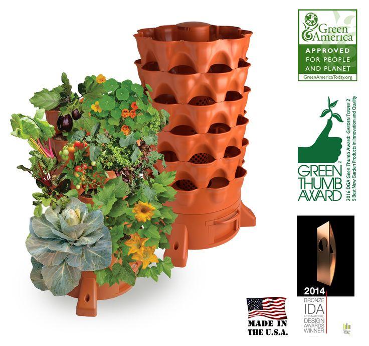Top 25 best compost container ideas on pinterest kitchen compost bin garden compost and - Garden tower vertical container garden ...