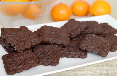 Citromhab: Kakaós-narancsos keksz