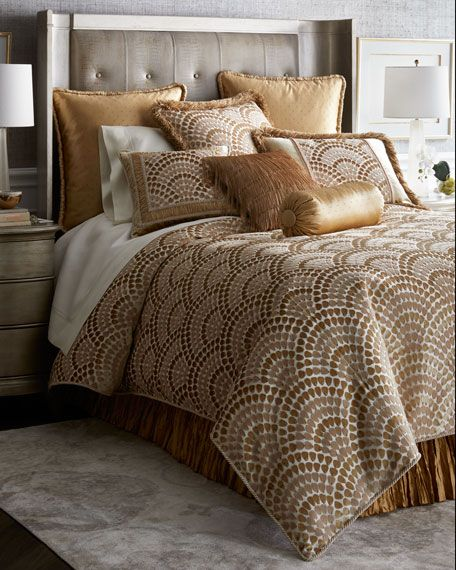6b007d0b55 Dian Austin Couture Home Rosamaria Queen Duvet and Matching Items &  Matching Items   Neiman Marcus