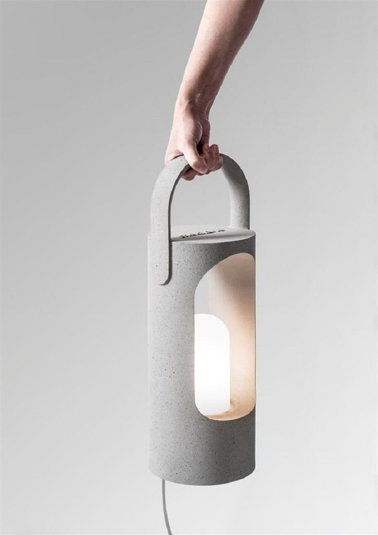 """""""Roling"""" Collection Decorative Lamps Made Of A New Composite Material  METALARTE"""