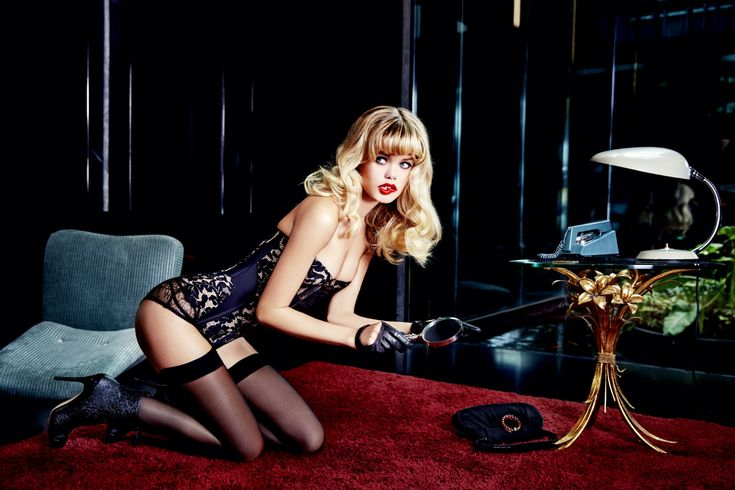 Agent Provocateur Spring/Summer 2015: Wanted Badly | The Lingerie Addict: Lingerie for Who You Are
