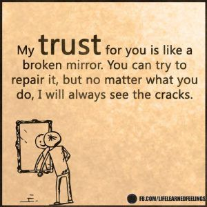 Quotes And Sayings, My trust for you is