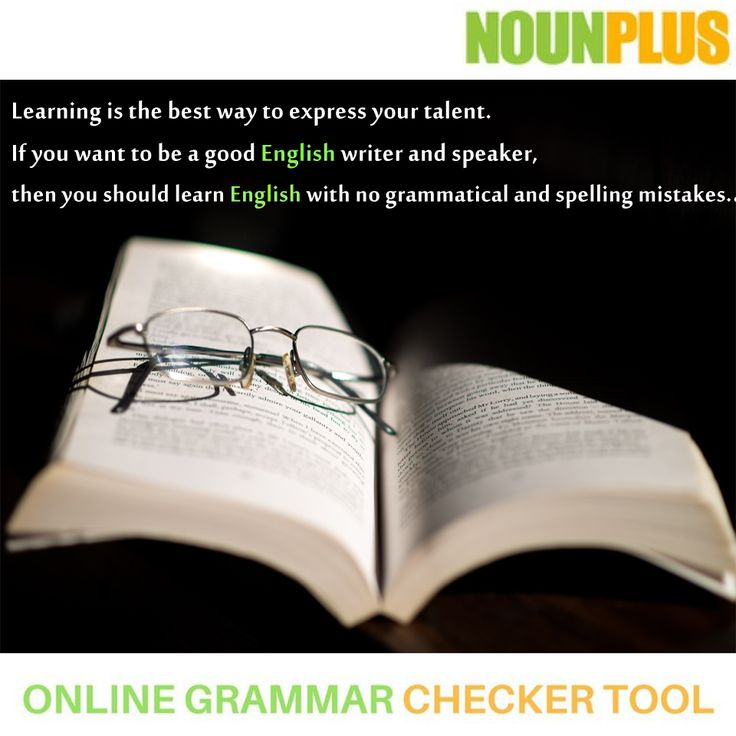 Learning is the best way to express your talent. If you want to be a good English writer and speaker, then you should learn English with no grammatical and spelling mistakes.  To make it easy for you a free online grammar checker is here. Don't be hesitated, feel free to use it. #Onlinegrammarchecker #Englishgrammar #Englishlearning