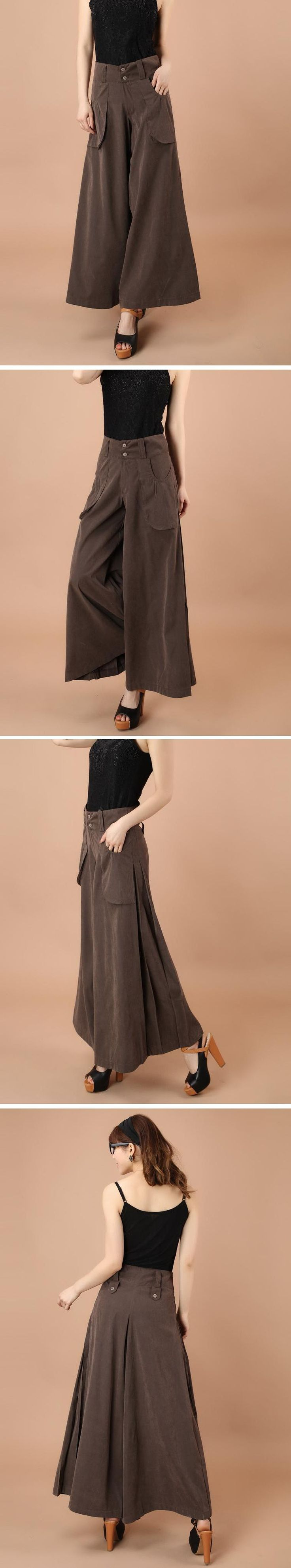 2013 spring and summer Career casual loose pants plus size trousers wide leg pants Palazzo high waist pant fashion culottes-inPants & Capris from Apparel & Accessories on Aliexpress.com | Alibaba Group