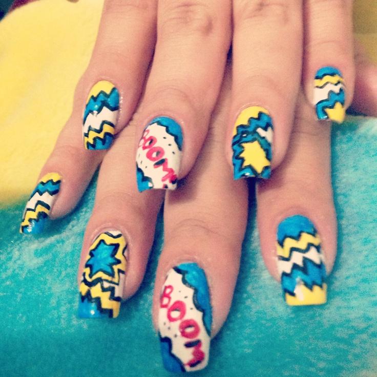 Pop art #nails