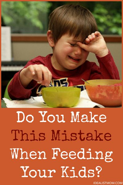 Do you make this mistake at the dinner table with your kids? Click thru to find out and if so, how to stop.