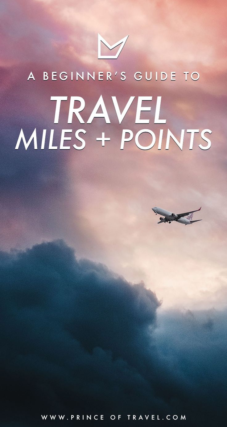 Ever hear stories about people travel for nearly free and using up their travel miles and points? Well, here's a beginner's guide so you can too! #travelmiles #traveltips