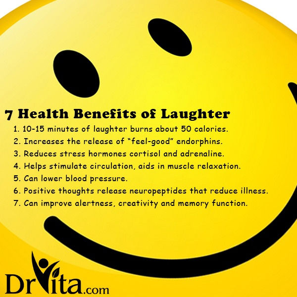 benefits of laughter You'll get a chuckle from this trivia about laughter 9 weird facts you never knew about laughter study has pointed to the health benefits of laughter.