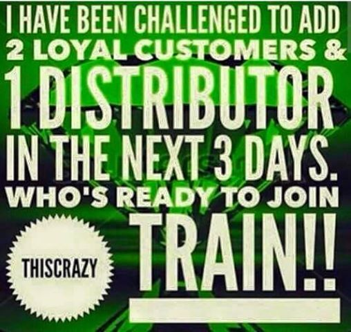 Have you been wanting to try any of our Products or have you thought about jumping onboard the Crazy Wrap Train as a ItWorks! Distributor?