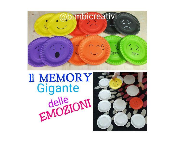Il MEMORY Gigante delle EMOZIONI