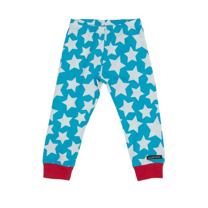 Villervalla kids clothing - pants STARS SKY