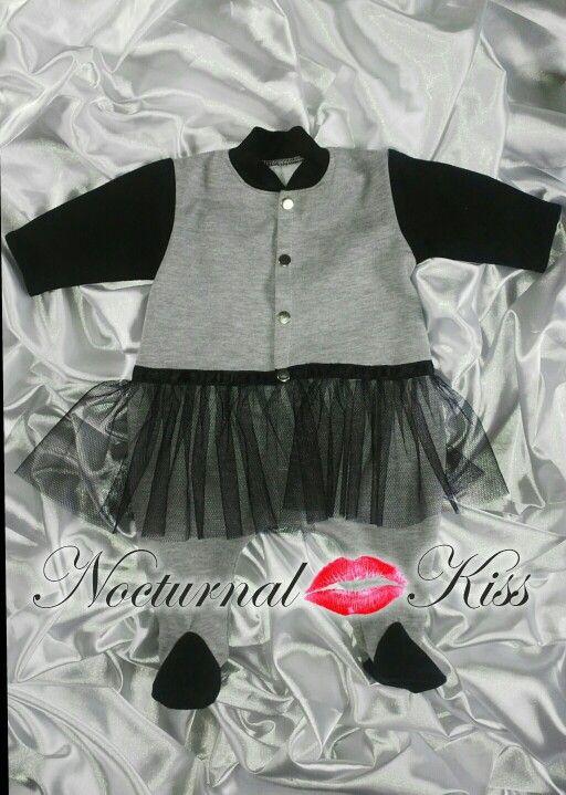 Lil Kiss fancy onsie