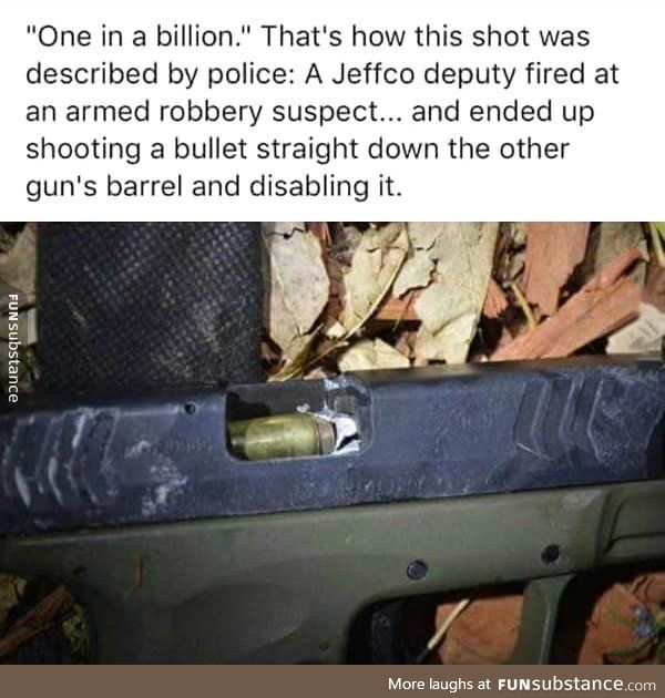 Deputy Fired Shot Into Suspect S Gun Barrel Jamming It
