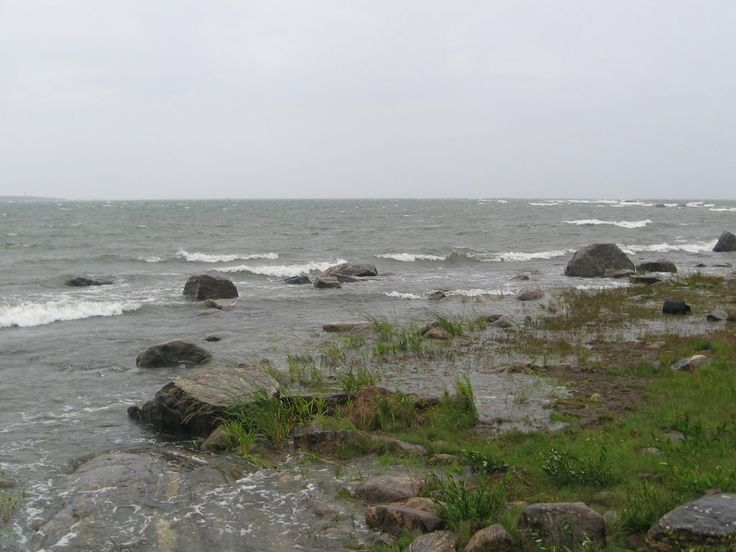 A gray and windy day in the Gulf of Bothnia in Finland. - photo Arppe