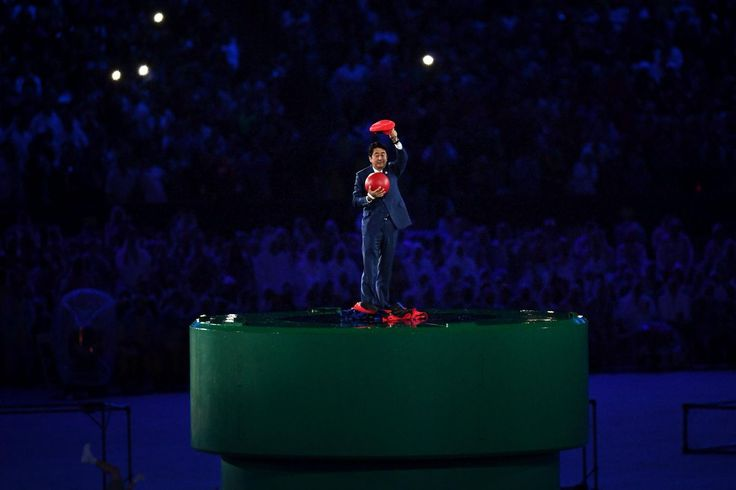 So, Shinzo Abe just appeared in the Olympics Closing Ceremony cosplaying as Mario - http://wowjapan.asia/2016/08/shinzo-abe-just-appeared-olympics-closing-ceremony-cosplaying-mario/