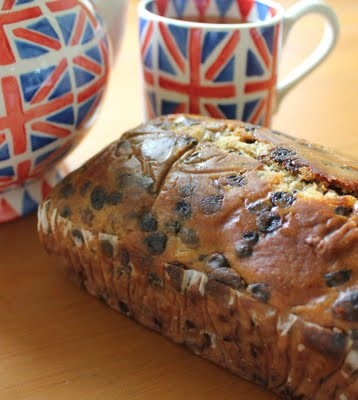 The Harrogate Cake Co. tea loaf  (I hand carried it all the way home from York, England!)