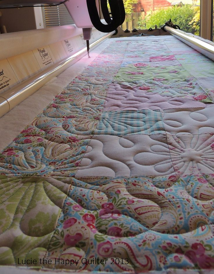 421 best Free Motion Quilting 6 images on Pinterest   Free motion ... : free arm quilting - Adamdwight.com