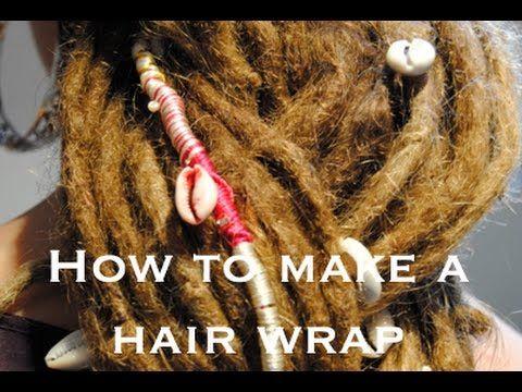 The 25 best how to wrap dreads ideas on pinterest nail wraps how to make a creative dreadlock wrap hair wrap dreadlock tutorial youtube urmus Images