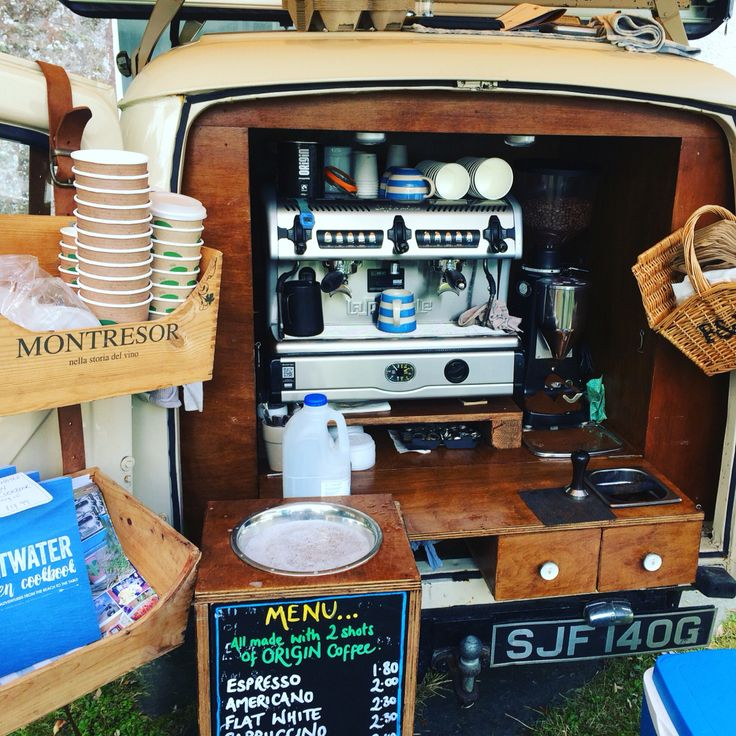 Love Laidback Coffee Co's Morris Minor van so old school and cool. Great coffee too!