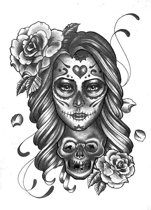 17 Beste Ideen Over Suiker Schedel Uil Op Pinterest Sugar Skull tatoeages Uiltatoeages En