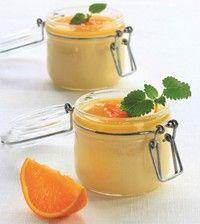 Bilde av Appelsinfromasj med sukrin.