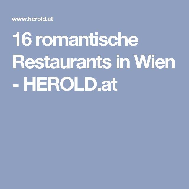16 romantische Restaurants in Wien - HEROLD.at
