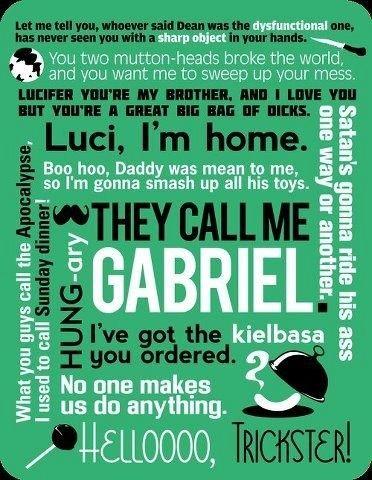 Gabriel quotes | supernatural