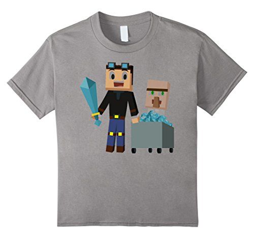 Kids The Diamonds Minecart top selling T-Shirt 10 Slate T... https://www.amazon.com/dp/B01LADDV2Y/ref=cm_sw_r_pi_dp_x_4N-iybKHV4KRH