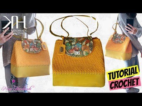 """TUTORIAL BORSA SECCHIELLO """"Queen Butterfly"""" UNCINETTO/CROCHET BAG ● Katy Handmade - YouTube"""