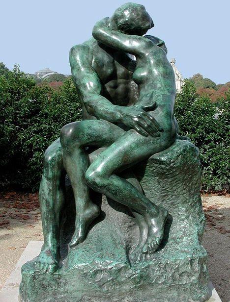 Auguste Rodin Escultor francês (1840-1917)  Jardim das Tuileries em Paris