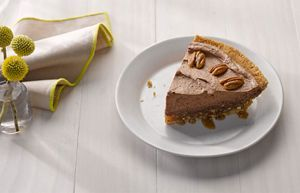 Chocolate Mousse and Praline Pie