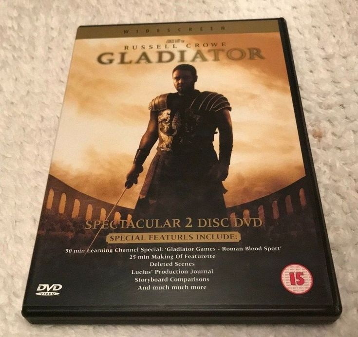 Only £1.57!! Gladiator (2000) Two Disc Set DVD Fast Free Postage