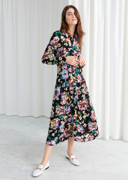 22aa9182765d How to wear winter florals this season. The floral trend is hot once more  but