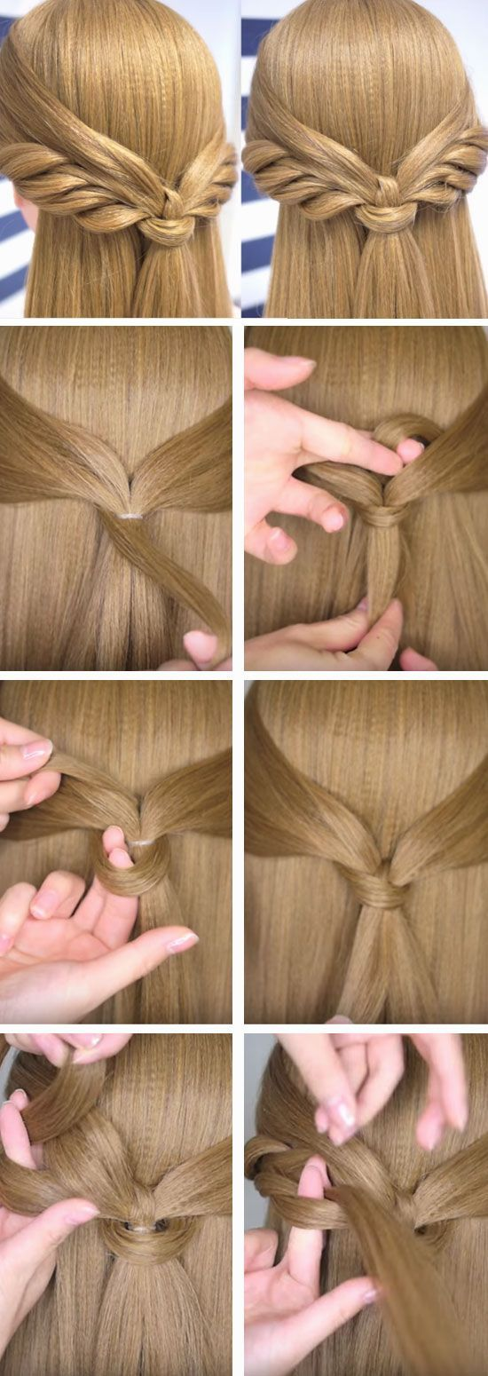Angel Wings | Cute Spring Hairstyles for Long Hair | Quick and Easy Hairstyles for Medium Hair