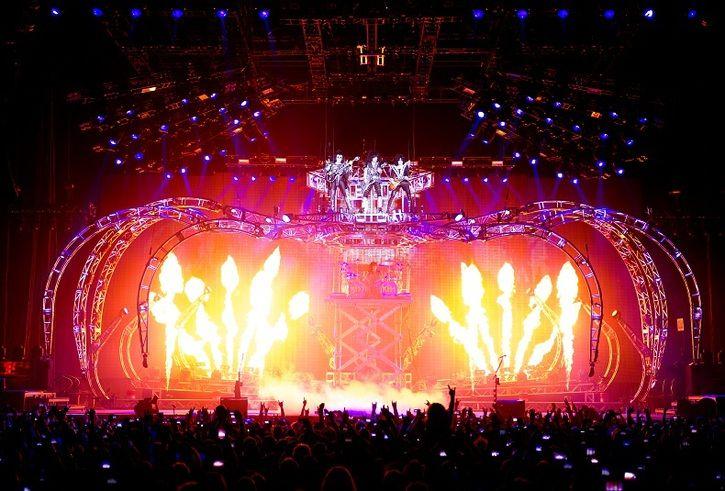 KISS - Stage in Zurich