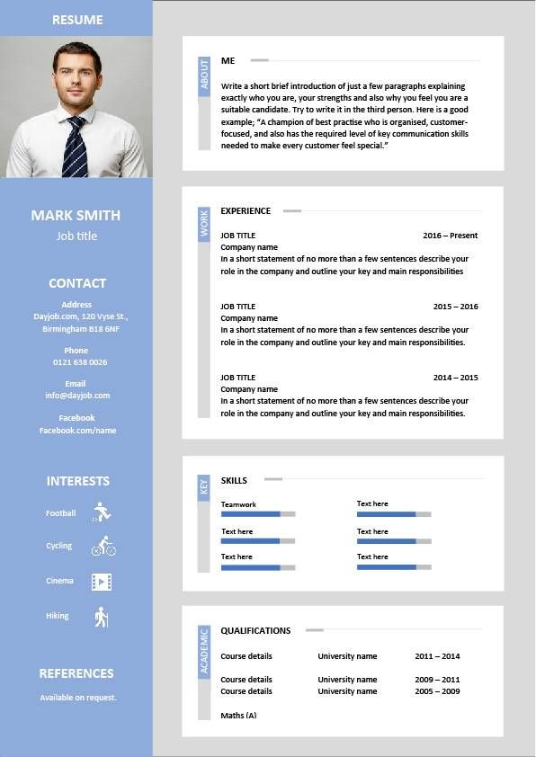 17 best ideas about latest resume format on pinterest