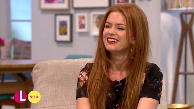 Isla Fisher on how Sacha Baron Cohen confuses their children when he goes home dressed like one of his characters.