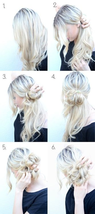 winter hairstyle tutorial