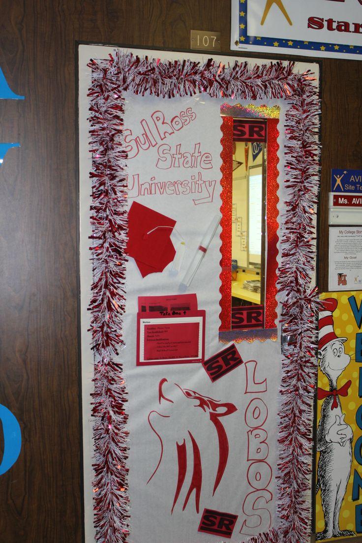College Themed Door Decorating Contest Flisol Home