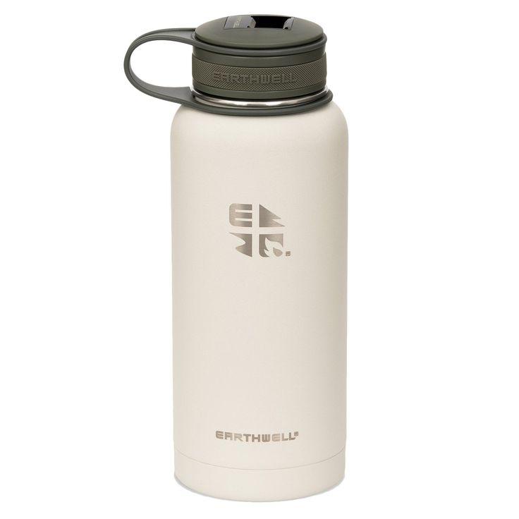 Earthwell 32oz Kewler en brun   – Products