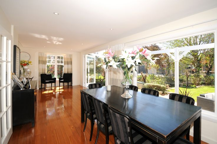 Beautiful open plan dining room - character home