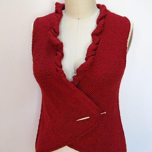 Tessa Vest Pattern – Knit Purl