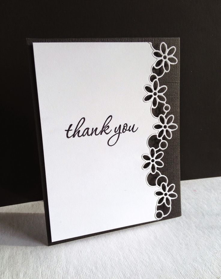wedding thank you cards time limit%0A Today  I made a couple cards using an old die   Bubble Daisy