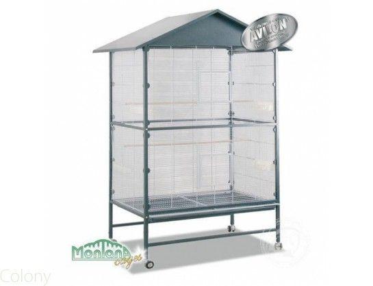 Perroquet : Cages et Transport | Volières d'intérieur | Pour bec droit, perruche, grande perruche, conure
