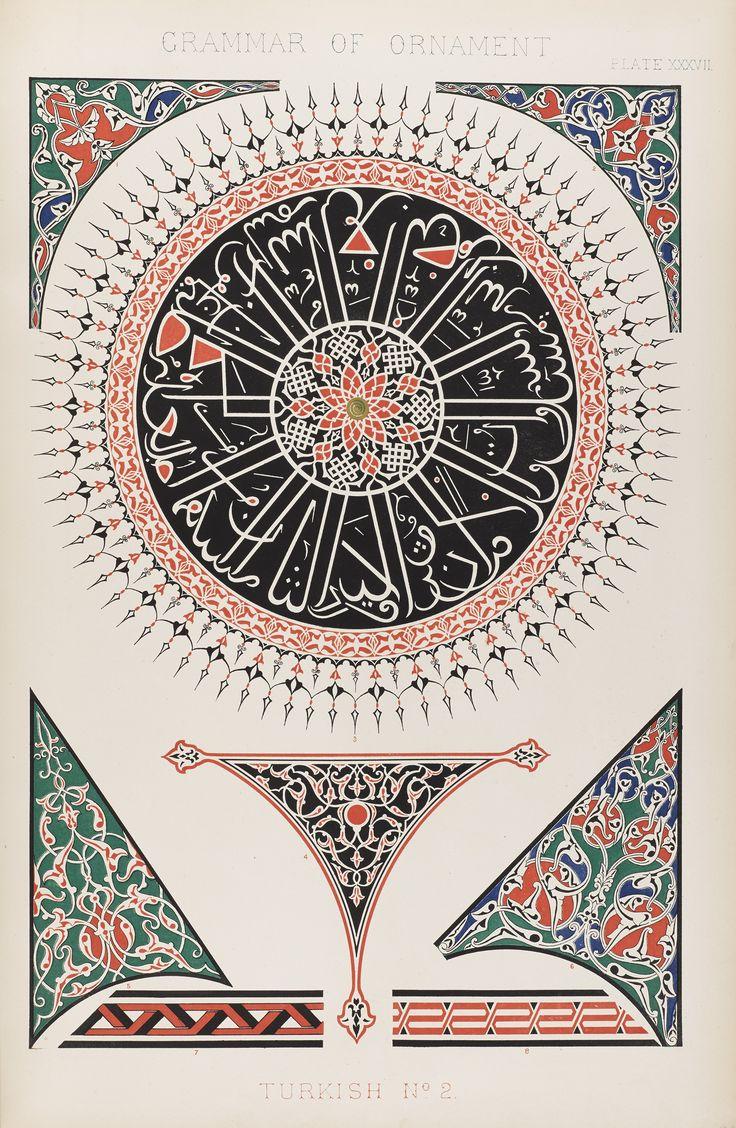 Grammar of Ornament, by Owen Jones (1856). National Museum of Scotland.