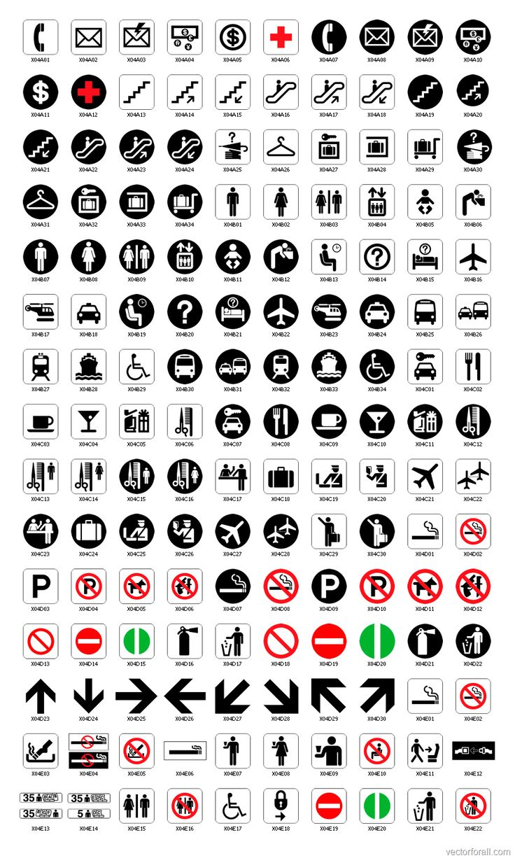Pictographic signage