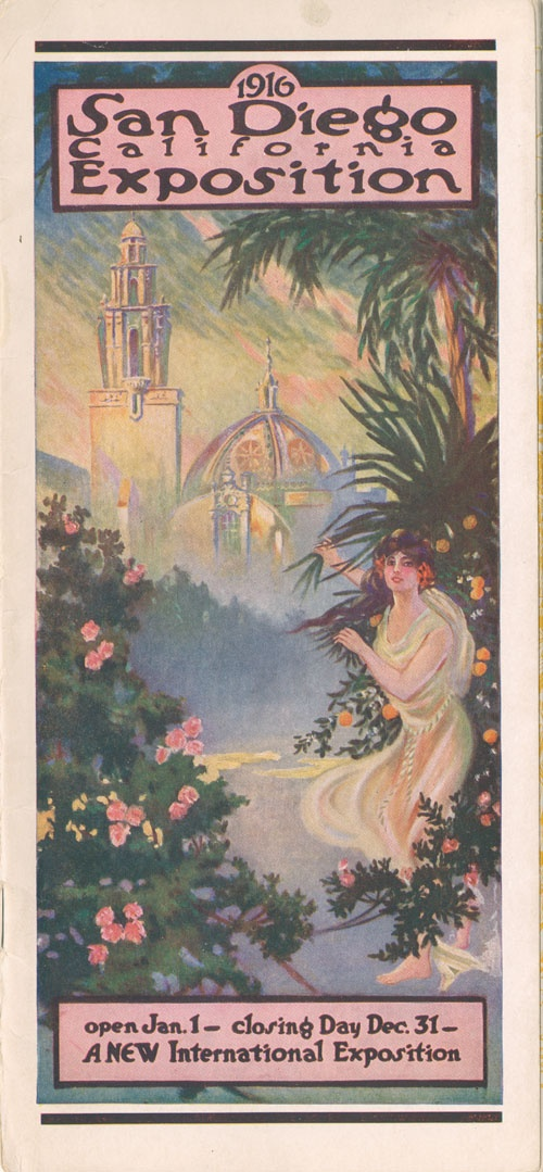 San Diego - California Exposition - 1916