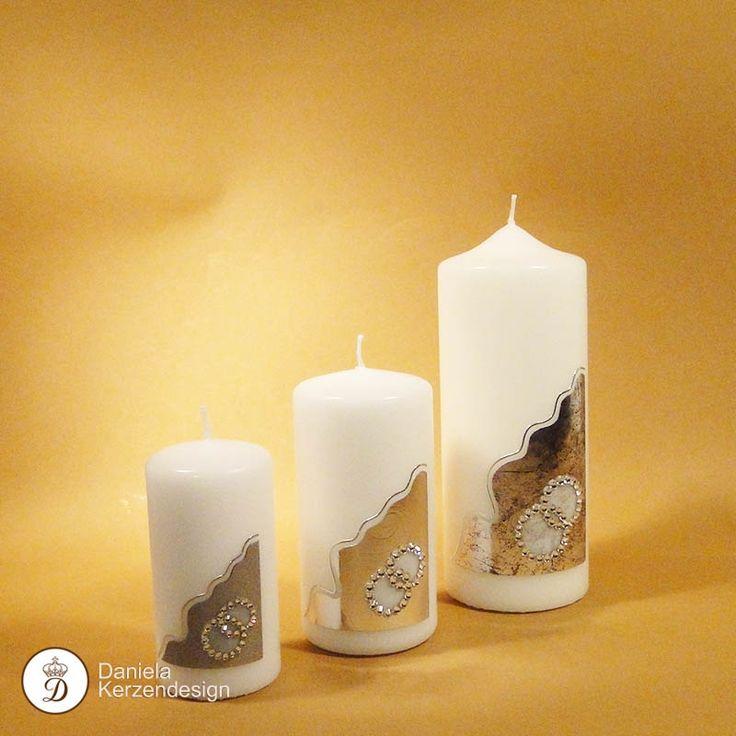 Verzierwachs zum Verzieren von Kerzen und Festtagskerzen